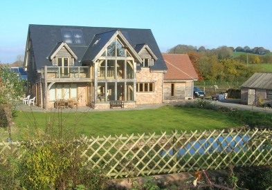 Oak Framed House in Somerset