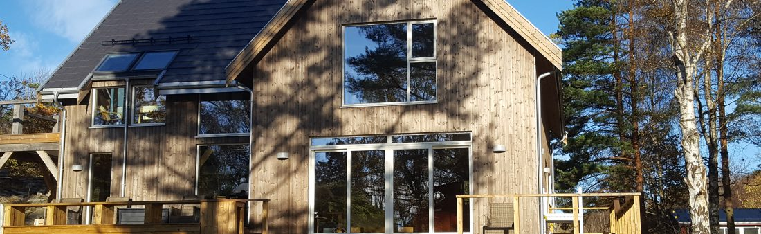 Westwind Oak raises an Oak Frame in Norway