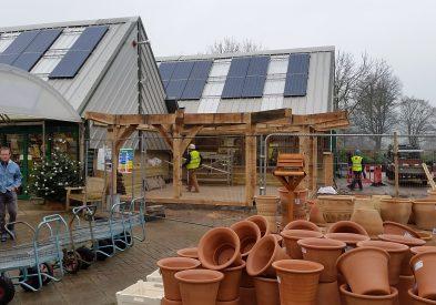 Oak Extension to Garden Centre Cafe