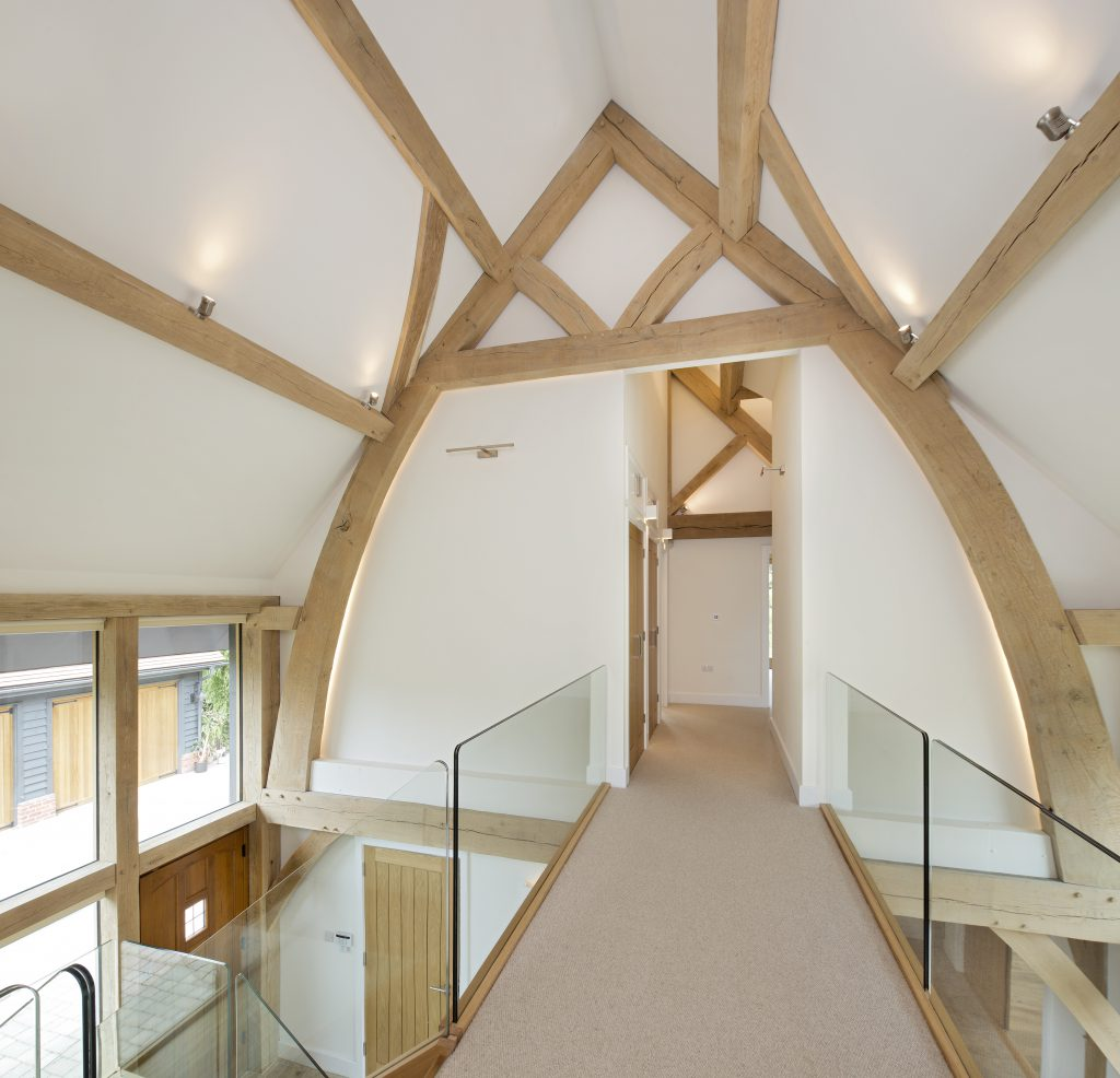 An Oak Frame Home Built For Under 200k: New Build Oak Frame House With SIPs In Buckinghamshire