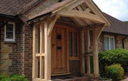 Oak Porches & Garages