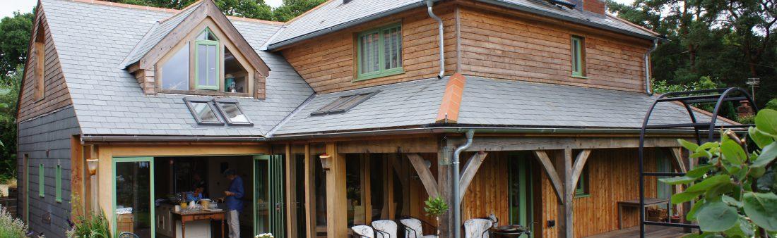 Devon Oak Framed House