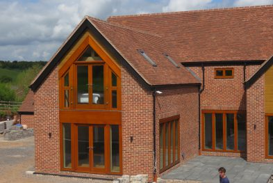 Oak framed house in Warwickshire
