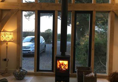 Oak Framed Annex in Dorset