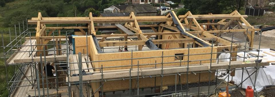 Oak Frame & SIP project in Oldham