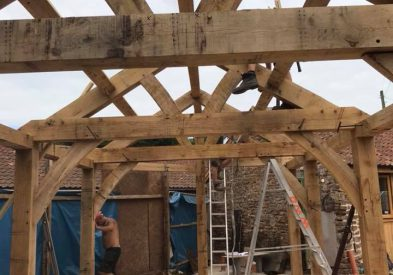 Oak Frame in North Somerset