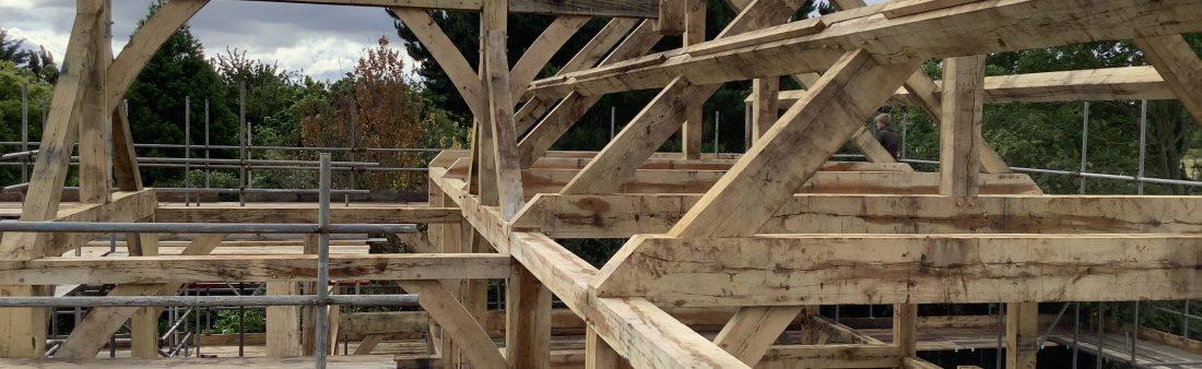 Oak Framed House with SIP in Kent