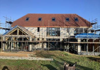 Oak Frame and SIP project in Kent