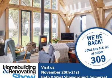 Come and see us at the South West Homebuilding & Renovating Show! 20-21 November. Click for 2 free tickets!