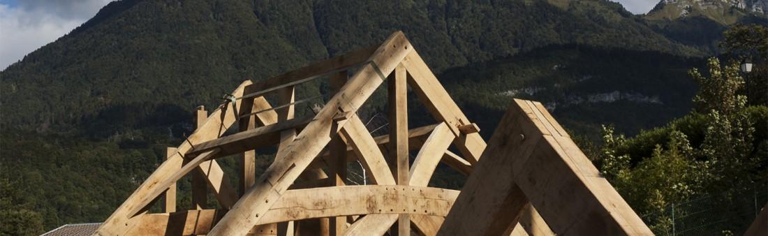 Alpine Oak Framed House